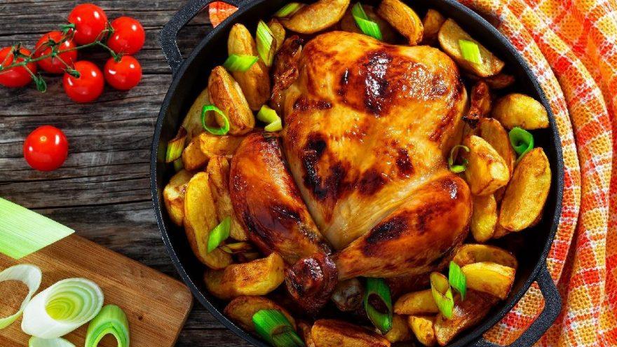 Fırında Muhteşem Tavuk Tarifi! Nefis Kıvamında Tavuk Yemekleri Tarifi