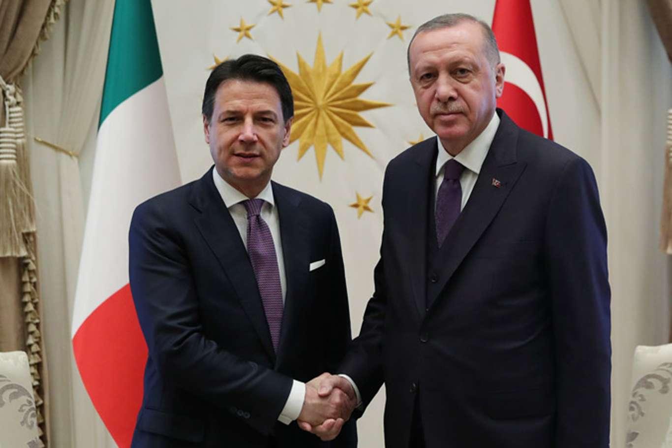 Başkan Erdoğan, İtalya Başbakanı Giuseppe Conte İle Telefonda Görüştü