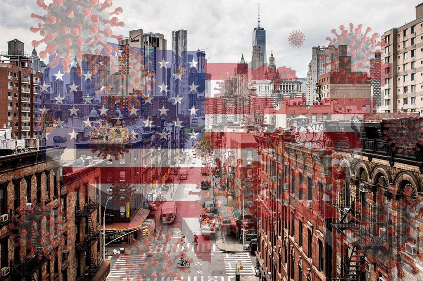 Amerika'da Korkutan Bilanço: Ölü Sayısı 400 Bini Geçti!
