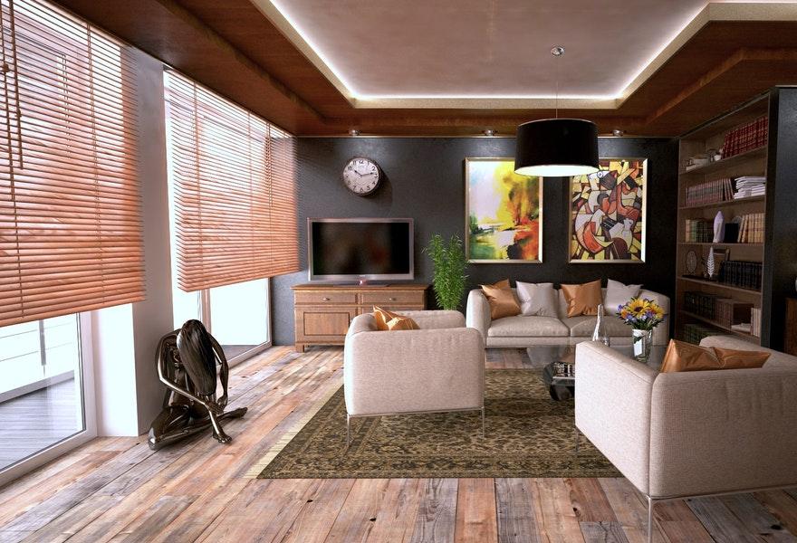 Koyu Duvar Renkleri İle Uyumlu Mobilya Seçimleri