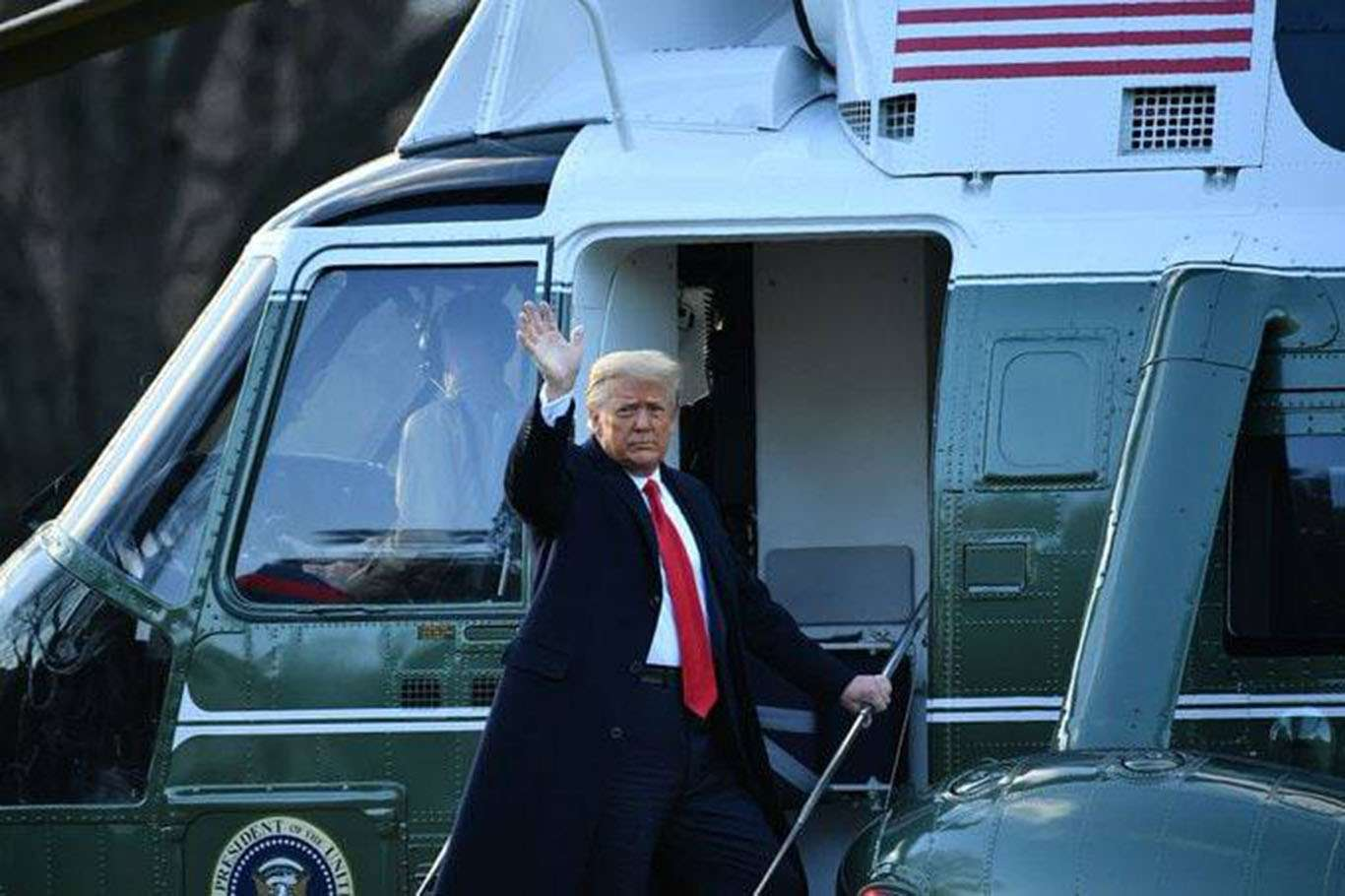 Trump: Mutlaka Geri Döneceğim!