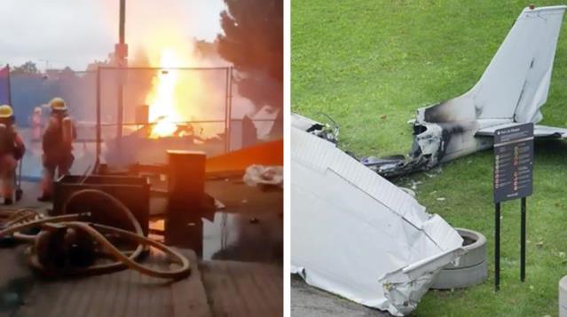 Evlilik Teklifi İçin Kullanılan Uçak Düştü; 1 Ölü, 1 Yaralı