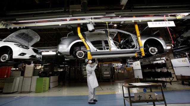 Mazda Çip Krizi Sebebiyle Üretime Ara Verdi