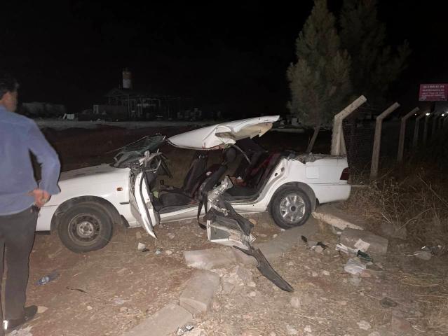 Kepçe Otomobili Biçti, 2 Kişi Öldü 7 Kişi Yaralandı