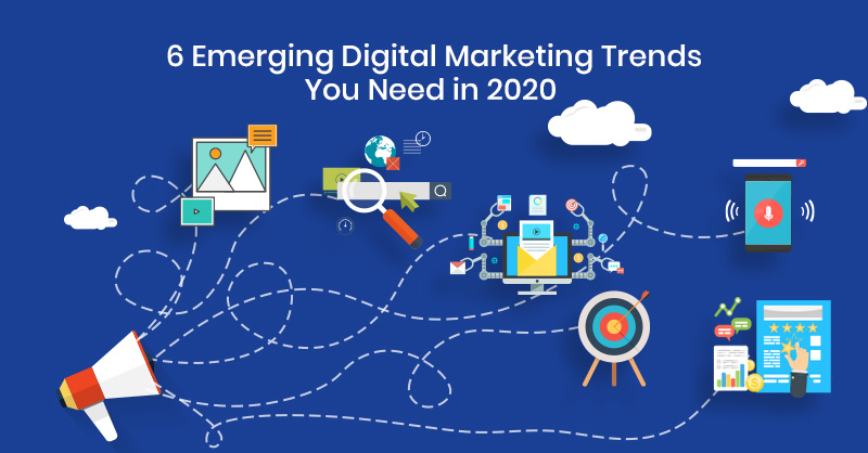 The Best 6 digital marketing trend in 2020