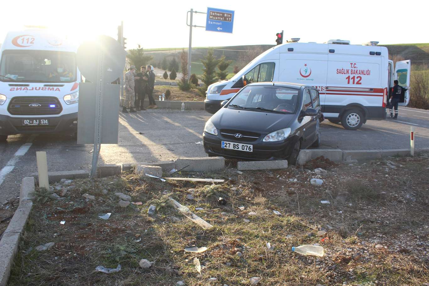Adıyaman'da Trafik Kazası: 9 Kişi Yaralandı