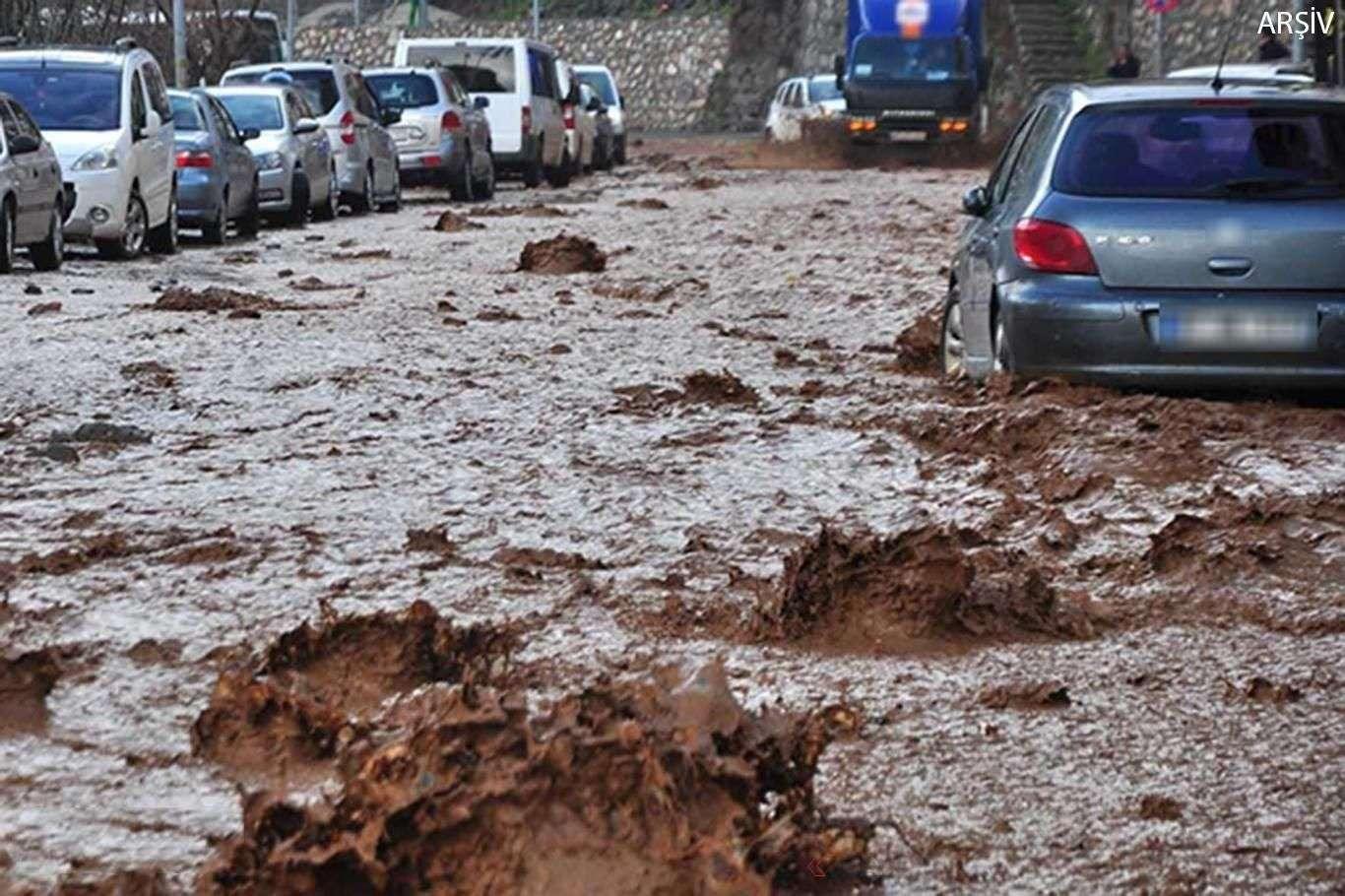 Meteorolojiden Ciddi Sel ve Su Baskını Uyarısı Yapıldı