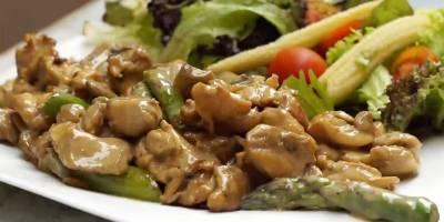 Kuşkonmazlı Kremalı Tavuk Tarifi' Kuşkonmazlı Kremalı Tavuk Nasıl Yapılır?