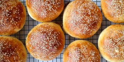 Hamburger Ekmeği Tarifi! Evde Hamburger Ekmeği Nasıl Yapılır?