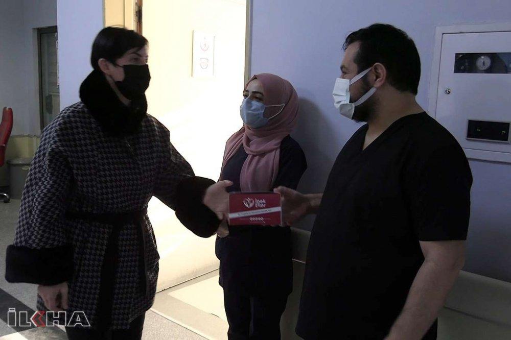 Sağlık Çalışanlarına Anlamlı Ziyaret!