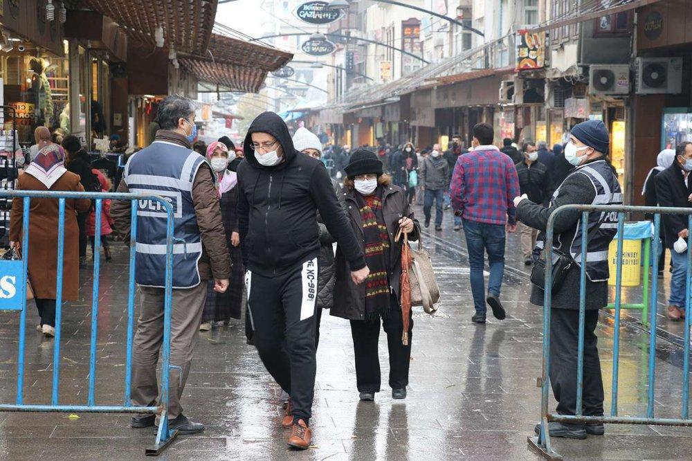 Vakaların Artış Gösterdiği Gaziantep'te Tedbirler Genişletildi