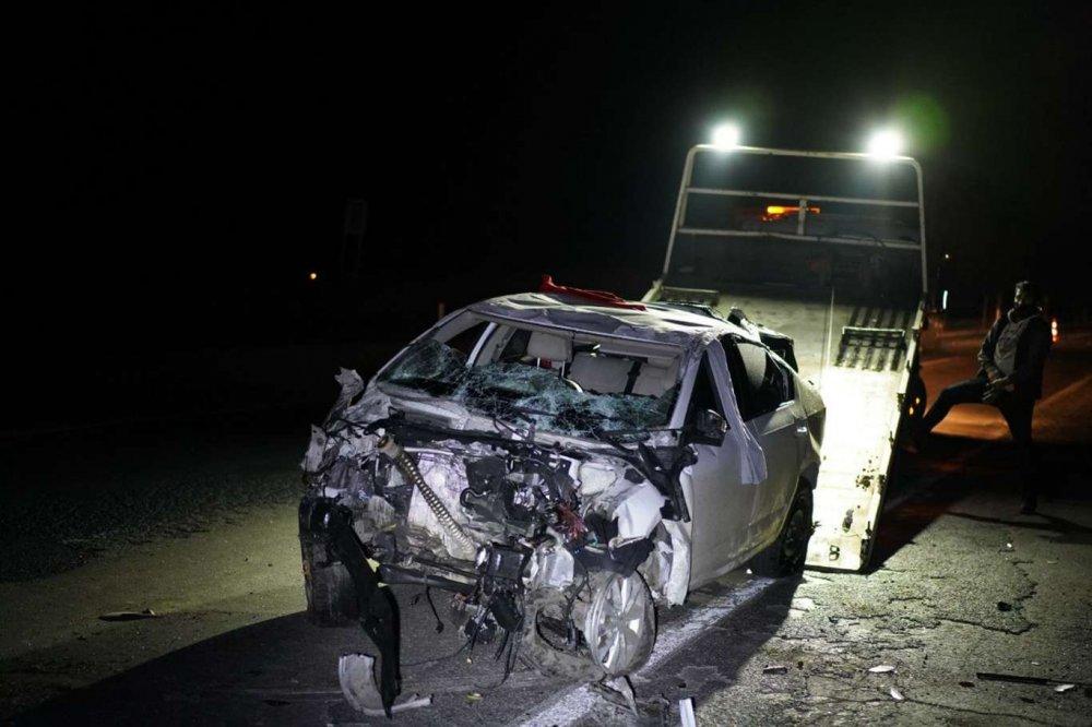 Aşırı Hız Ve Dikkatsizlik Kazaya Sebep Oldu: 2 Yaralı