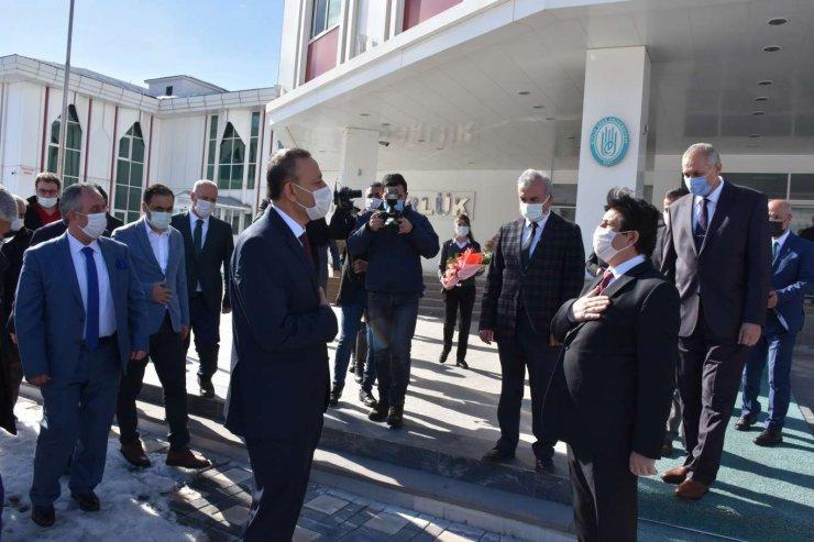 Beü'ye Yeni Atanan Rektör Elmastaş Göreve Başladı