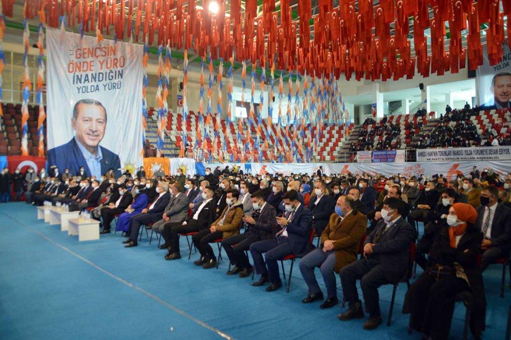 Ak Parti Ağrı İl Gençlik Kolları Başkanlığı 6. Olağan Kongresi Gerçekleştirildi