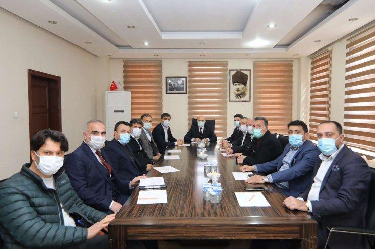 Mardin'de Osb Müteşebbis Heyeti Toplantısı Yapıldı