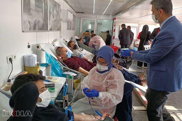 Bingöl Gazeteciler Cemiyetinden Kan Bağışına Destek